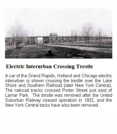 Electric Interurban Crossing Trestle