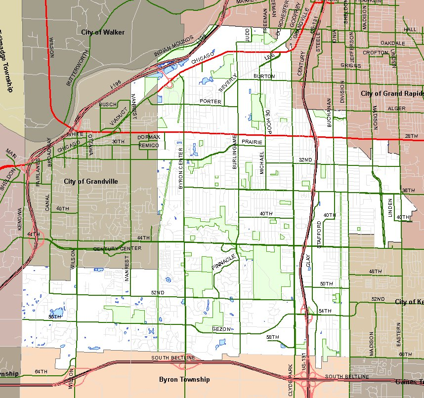 City Of Wyoming Living In Wyoming Maps - Maps wyoming