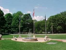 Veteran's Memorial Garden Walk of Honor