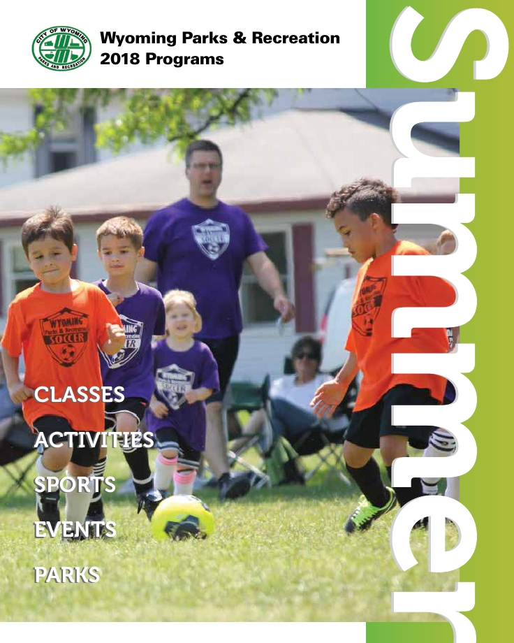 Summer Recreation Program Brochure